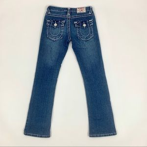 True Religion Joey Mid Rise Bootcut Jeans